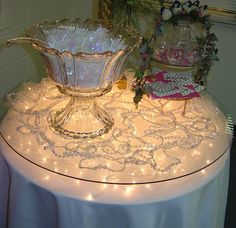 Floating Tablescape....