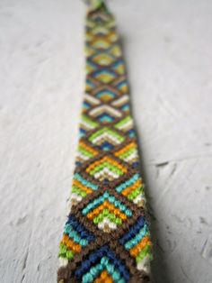 custom friendship bracelet by TheArtSwallow