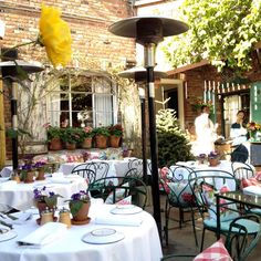The Ivy in LA – amazing for lunch or brunch and shopping. Shop the street up and down – great stores including Kitson.