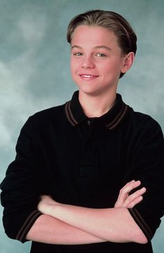 Leonardo DiCaprio from the GROWING PAINS days of the early 90's.