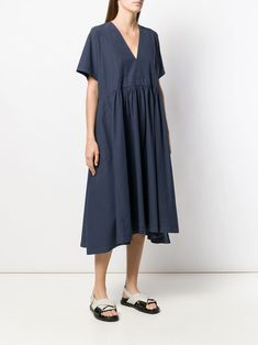 Henrik Vibskov Very flared midi dress £347 - Shop Online. Same Day Delivery in London