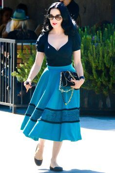 Dita Von Teese Street Fashion I honestly very suprised when i search it. She doesn't prefer high heels and she looks always classy.I'm only 18 which is why my best street fashion is jean and a t-shirt. Dita Von Teese Book, Dita Von Teese Style, Vintage Dresses, Nice Dresses, Vintage Outfits, Vintage Fashion, Vintage Clothing, Old Hollywood Style, Hollywood Glamour