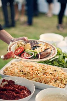 Three Wedding Reception Menu Ideas, Part 2: Backyard Barbecue — Nirvana Photography Studios