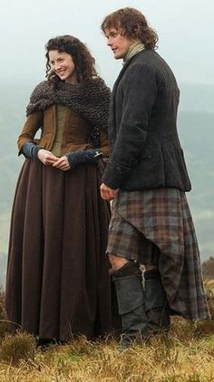 Outlander's Jamie and Claire Fraser