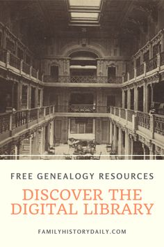 Wouldn't it be wonderful if there was an online research site that allowed you to easily search for records about your ancestors from repositories across the USA? One that linked to actual records that you could view online? Free Genealogy Records, Free Genealogy Sites, Family Genealogy, Library Of America, Things To Know, Ancestry, Family History, Brain, Entertainment