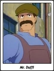 Mr. Duffi / Boss / Mr. Duffy / El castillo en el cielo / Tenkû no shiro Rapyuta / Laputa / Castle in the Sky / Hayao Miyazaki / 1986 / Ghibli / Anime