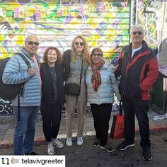 Visitors from Australia with greeters Shulamit and Nachum in the #yemenitequarter.  #meetalocal for a #freewalk #freetour in #telaviv with a #telavivgreeter . #tourism #israel #holyland #mediterranean #israeltravel #cityscape #freecitywalk #telavivwalks #visittelaviv #spendtimewithalocal #whenintelaviv #thingstodointelaviv #internationalgreeterassociation #tlv #thingstoseeintelaviv #offthebeatentrack #freewalkingtour Repost from www.instagram.com/telavivgreeter  Find your Greeter in one of… Israel Travel, Holy Land, Walking Tour, Stuff To Do, Tourism, Australia, Free, Instagram, Fashion