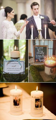 wedding ideas with candle to remember deceased loved ones decoracin rustic 10 Great Ways to Honor Deceased Loved Ones at Your Wedding Happy Wedding Day, On Your Wedding Day, Wedding Blog, Dream Wedding, Wedding Ideas, Wedding Remembrance, Wedding Memorial, Romantic Wedding Photos, Marrying My Best Friend