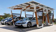 iシリーズにマッチする太陽光発電カーポートを提案|BMW ギャラリー
