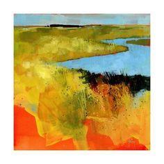 Art Print: Backwaters by Paul Bailey : 16x16in