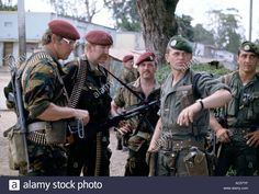 Zaire 1978 Belgian Paratroopers  And Foreign Legion Troops In Kolwezi Stock Photo, Royalty Free Image: 7454462 - Alamy