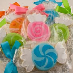 candyland party- cookies