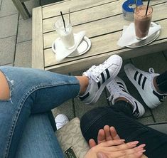 Uploaded by QueenS. Find images and videos about couple, shoes and jeans on We Heart It - the app to get lost in what you love. Nike Shoes Cheap, Nike Shoes Outlet, Running Shoes Nike, Cute Relationship Goals, Cute Relationships, Cute Couples Goals, Couple Goals, Sneaker Women, Mode Poster