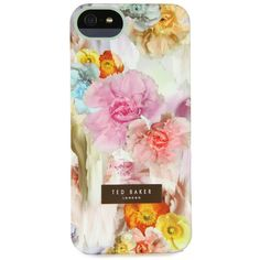 Ted Baker Sugar Sweet Floral iPhone Case (58 CAD) ❤ liked on Polyvore featuring accessories, tech accessories, phone cases, phones, cases, iphone, multi, ted baker iphone case, ted baker and floral iphone case