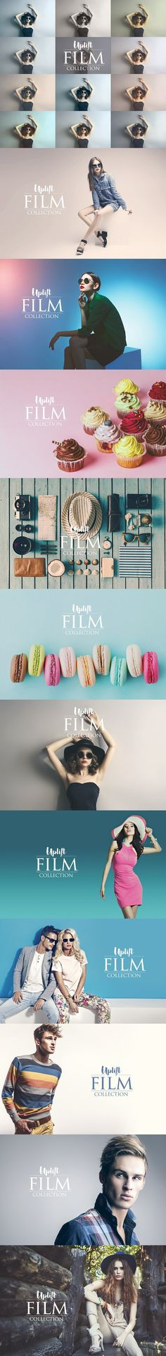 Uplift FILM Collection for Photoshop. Actions. $19.00