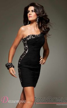 Tony Bowls Mini Dress