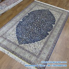 Persian rug, Persian carpet, Handmade rug is supplied by Henan Yilong Carpet Co. Silk Carpet, Carpet, Oriental, Handmade Rug, Silk Rug, Rugs, Rugs Online, Area Rugs, Rug Making