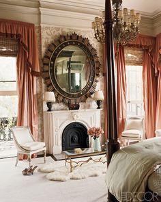 Decorator Richard Keith Langham New Orleans Master Bedroom.