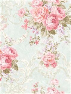 wallpaperstogo.com WTG-116447 Seabrook Designs Traditional Wallpaper