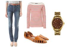 How to Wear: Straight Leg Jeans : Lucky Magazine