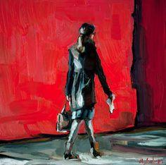 Edward B. Gordon: Monday red