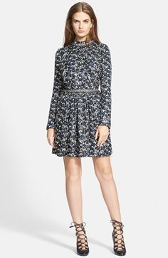 Tory Burch 'Look 26 Torrence' Long Sleeve Dress available at #Nordstrom