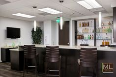 Seralles Don Q Office Bar | Interior Design Project by Michelle Lynne Interiors Group