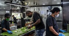This Isnt the Time for Caviar: A Chef Finds New Flavors in a Pandemic After the coronavirus lockdown a chef in Bangkok and his migrant staff started cooking a whole new menu and delivering food to the poor. Kitchen Cost, Kitchen Prices, College Lunch, School Lunch, Quesadillas, Caviar, Thailand Restaurant, Chefs, Starting A Food Truck
