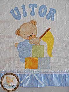 Resultado de imagem para fraldas com apliques de tecido