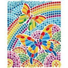 Paper Mosaic, Mosaic Tile Art, Mosaic Crafts, Mosaic Projects, Mosaic Glass, Butterfly Mosaic, Butterfly Artwork, Mosaic Designs, Mosaic Patterns
