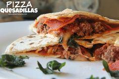 Dinner Tonight: Pizza Quesadillas