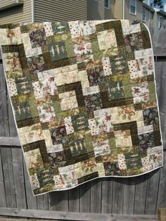 Let's just skip all the small talk and jump right into the quilt. Finished size measures 42 inches by 56 inches. Materials: 12 Fat Quarters (FQs) Rotary Cutter Mat & Ruler Sewing Machine …