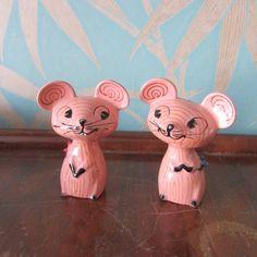 1950s Howard Holt The Merry Mouse salt & pepper shakers
