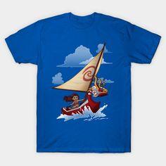 Water Waker T-Shirt - Moana T-Shirt is $13 today at Ript!
