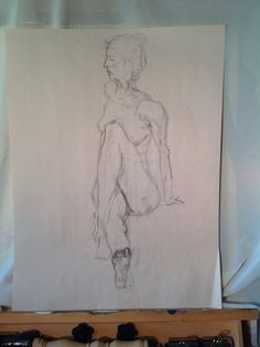 Life drawing class day 1