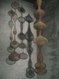 knitted metal sculpture