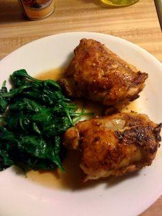 Honey-Spiced Chicken Thighs