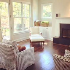 Laura Ramsey Furniture & Interiors   Living Room Project. #lauraramseyinteriors #lee #hickorychair #portfolio #interior #design #home #decor #upholstery #furniture #chairs @hickorychairco @leeindustries