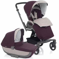 Inglesina Quad Stroller & Bassinet - Patagonia Quad Stroller, Convertible Stroller, Baby Jogger, Prams, Ball Dresses, Bassinet, Patagonia, My Boys, Baby Strollers