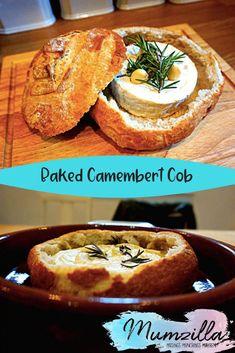 Baked Camembert Cob