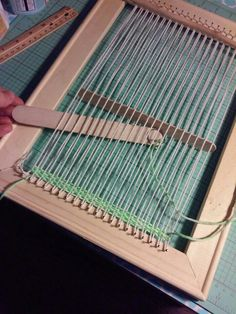 How to build your own lap loom
