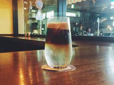Espresso tonic in Coffee house Nishiya. Very おいしい #coffeetime #travelcoffee #travel #coffeeaddict #coffee #coffelovers #coffeelover #drip #thingsaboutcoffee #coffeemug #aeropress#coffeetogo #g1 #gdrip#coffeemaker #coffee #makingcoffee #details #specialtycoffee #melbourne #tokyo #korea #goodcoffee #coffeekkim #espressotonic #espressobananashake http://ift.tt/1Vbg53z