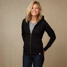 Womens Heavyweight Full Zip Hooded Sweatshirt - American Giant