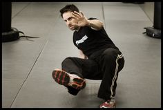 Get up off the ground! Self Defense Training w/ AJ Draven of Krav Maga W...