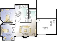 Basement Designers mystic lane | retirement house plan | ranch floor plan | basement