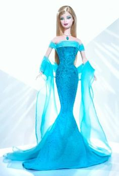 December Turquoise™ Barbie® Doll | The Barbie Collection