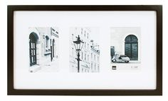 Kiera Grace Contempo Collage Picture Frame Matted for 3- 4 by 6 Inch Photo, Black -- Find out more about the great product at the image link. (This is an affiliate link and I receive a commission for the sales)
