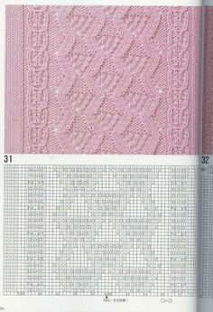 "Photo from album ""Узоры спицами on Yandex. Knitted Dishcloth Patterns Free, Lace Knitting Patterns, Knit Dishcloth, Knitting Charts, Knitting Stitches, Stitch Patterns, Knitting Books, Loom Knitting, Cable Chart"