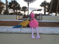 Patsy & Paulie enjoy the view at Laishley Park in Punta Gorda, Florida