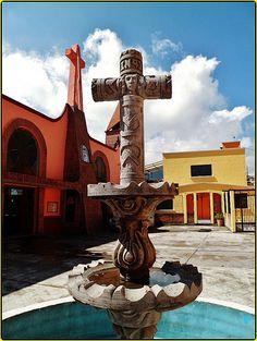 Parroquia San Isidro Confesor,Ignacio Allende,Huixquilucan,Estado de México
